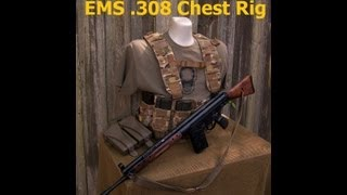 US Grunt Gear  EMS .308 Chest Rig