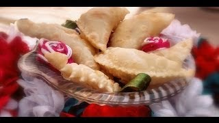 Khoya/mawa Gujiya - Holi Special Recipe By Mrs Uma Verma [ English SubTitles]