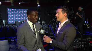 New Pistons head coach Dwane Casey one-on-one with Brad Galli