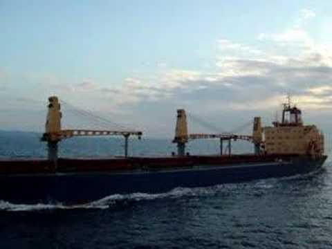Greek Tanker Meets A Passenger Ship
