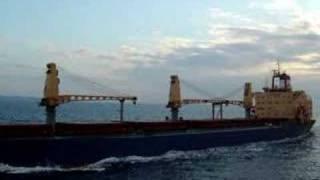 Greek Tanker Meets A Passenger Ship