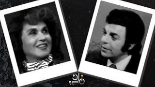 بالفيديو| نور الهدى في لقاء نادر مع سمير صبري