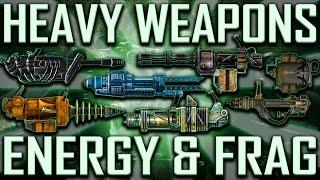 Heavy Weapons - Fallout 3 - Rare & Unique (Includes DLCs)