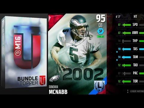 Madden 16 Ultimate Team - Donovan McNabb Topper!