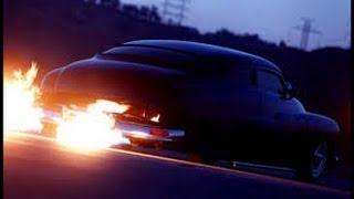 Turkey Run Daytona- shooting flames from exhaust - Fiamme dallo scarico - schießen Flammen aus Abgas