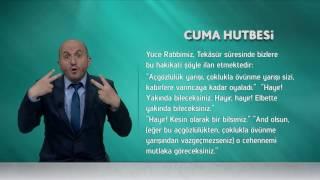 İşaret Diliyle Cuma Hutbesi - 2 Haziran 2017