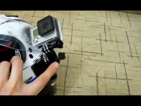 Роторное крепление на шлем для GoPro - YouTube