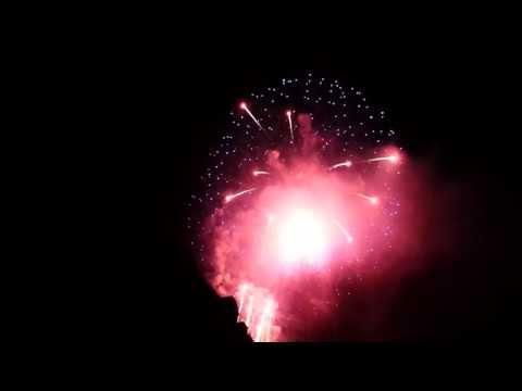 Staatsfeiertag Liechtenstein 15.08.2013 Feuerwerk