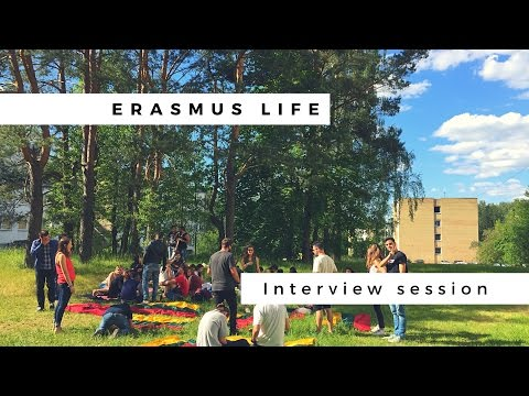 ERASMUS memories interview session - Vilnius, Lithuania