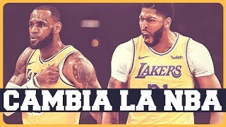 ANTHONY DAVIS JUGARÁ EN LOS LAKERS CON LEBRON