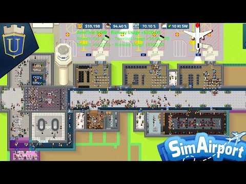 SimAirport | Larger Gate and Food Services | Part 4