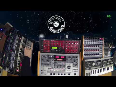 Access Virus B - Drum Station - MC 505 - 90's synths jam by Gabriel Guerrero (1/3)