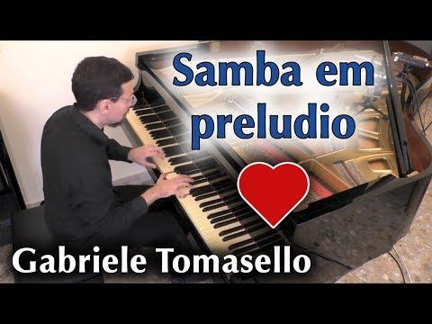 Samba em preludio solo piano Baden Powell   Vinicius de Moraes