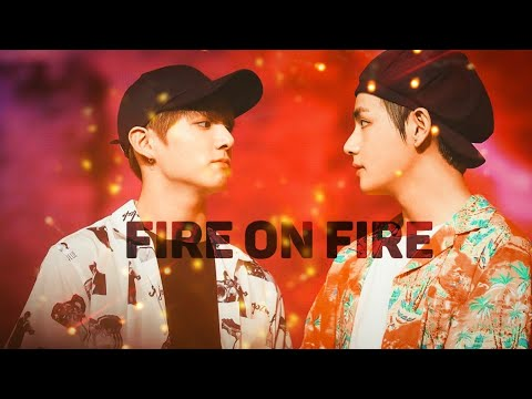 Taekook - Fire On Fire [FMV]
