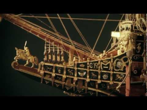 Sovereign of the Seas, modello in scala 1:84