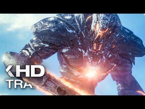 PACIFIC RIM 2: Uprising ALL Trailer & Clips (2018)