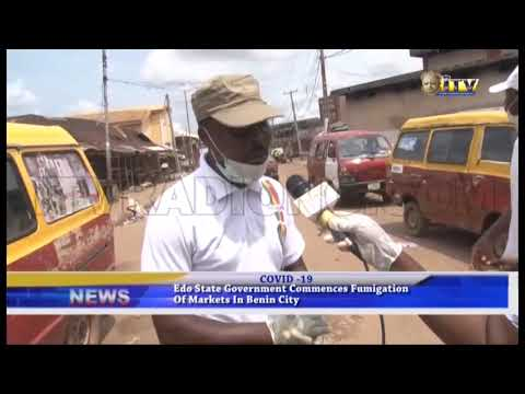 Edo State Government commences fumigation of markets in Beni