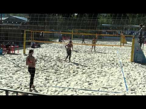 BV Russia 2014 regional series Moscow Game 10 Myshonkova-Shvedova and Barsuk-Popova