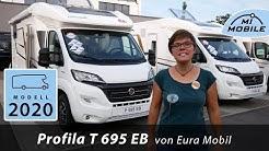 #028 Eura Mobil Profila T 695 EB - Bestseller mit Einzelbetten bis 7m - 2020