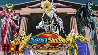 Saint Seiya Brave Soldiers GAMEPLAY PART 1