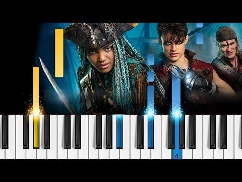 Descendants 2 - It's Going Down - Piano Tutorial - Disney's Descendants 2 OST