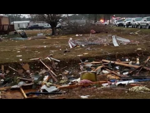Deadly storms claim lives in Georgia
