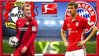 BAYER LEVERKUSEN vs FC BAYERN MÜNCHEN 0:0 Bundesliga 15.04.2017