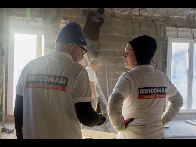 Premier chantier Bricos du Coeur de Bricoman