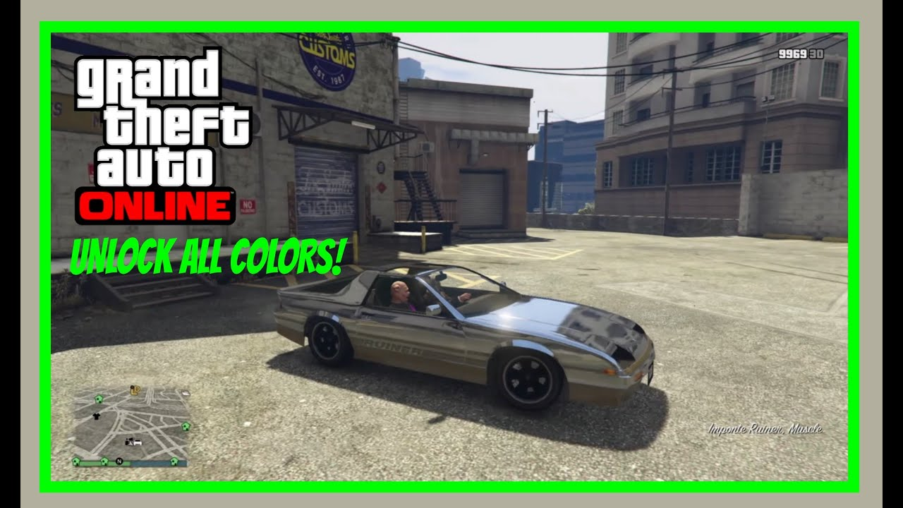 Online color wheel games -  New 1 31 Gta Online Glitches Unlock Any Color For Free And Customize Friends Cars