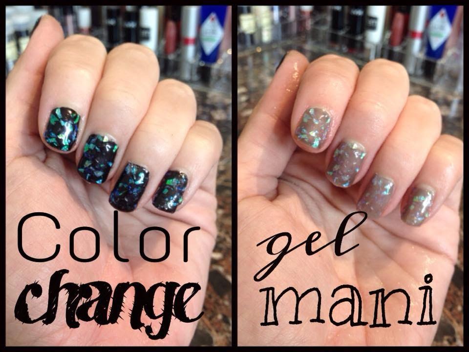 Color Change Gel Nails - YouTube