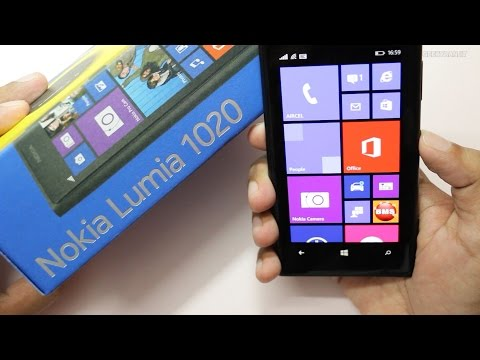 Nokia Lumia 1020 with 41MP Camera Unboxing & Sample Pictures