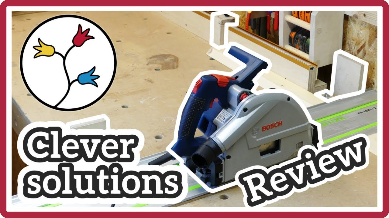 bosch gkt 55 gce track saw review tips and practical solutions plunge saw review youtube. Black Bedroom Furniture Sets. Home Design Ideas