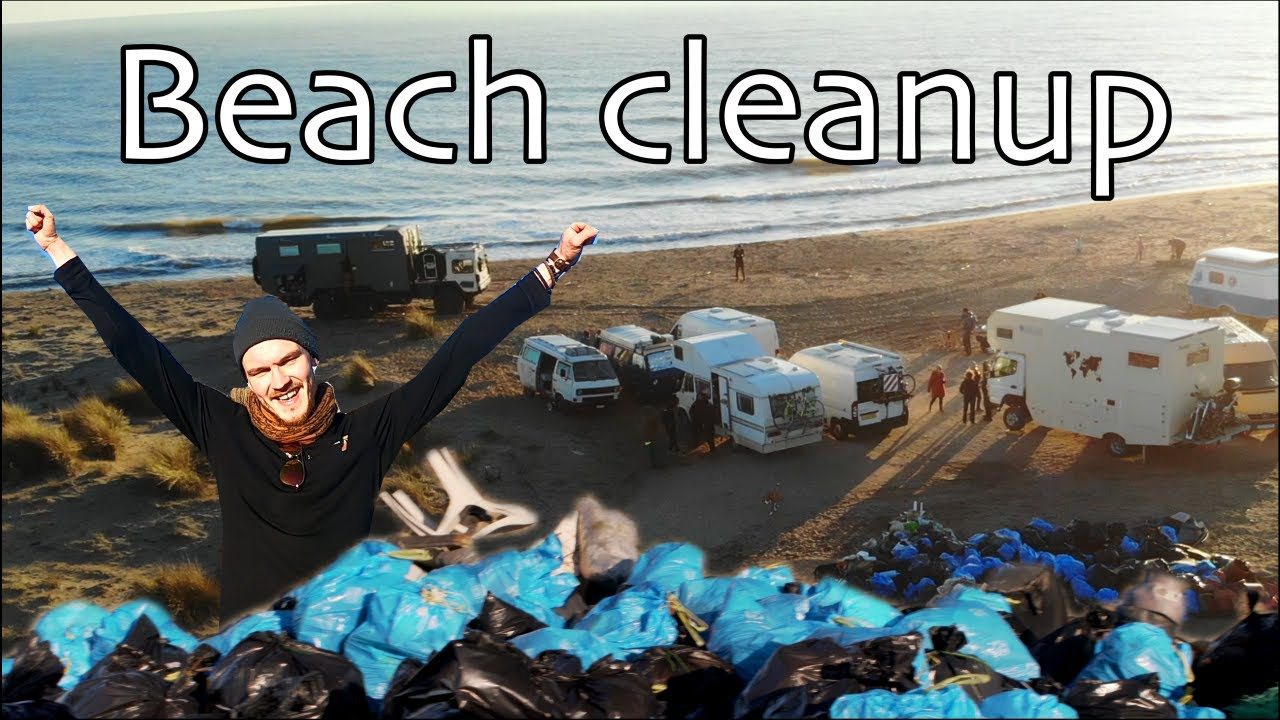 Van lifers Saving The World | Beach Cleanup | Van Life vlog | 2021 travel