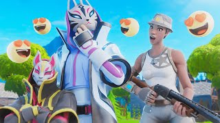 i made this kids MOM fall in love with me on fortnite