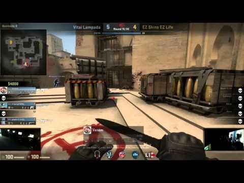 CS:GO Mini LAN VII Vitai Lampada vs. EZ Skins EZ Life