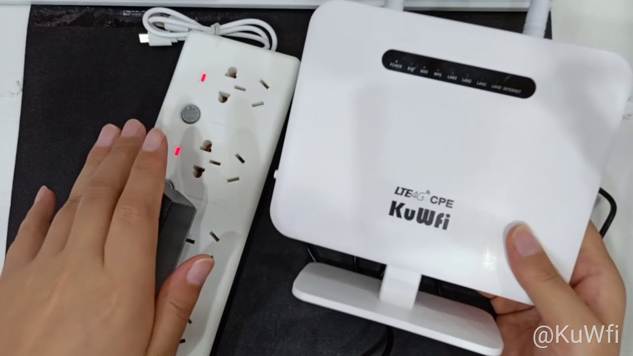 4G LTE CPE Wifi Router With LAN Port Support SIM Card Solt