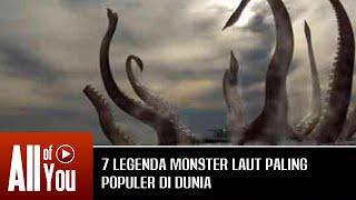 MONSTER LAUT TERBESAR DI DUNIA! Legenda Monster Laut Paling Populer di Dunia!