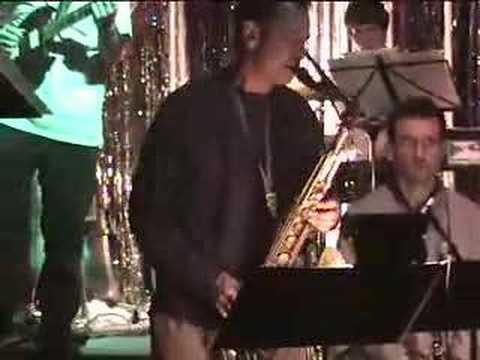 Rob Sudduth on Tenor Saxophone