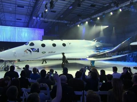 Virgin Galactic Rolls Out Space Tourism Rocket