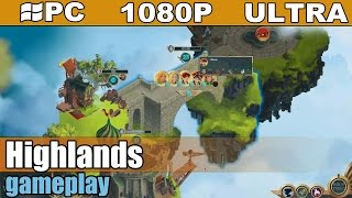 Highlands gameplay HD - Turn Based Strategy - [PC - 1080p]