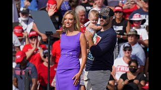 Washington — white house press secretary kayleigh mcenany's husband broke his silence on thursday following a string of negative news stories which claimed h...