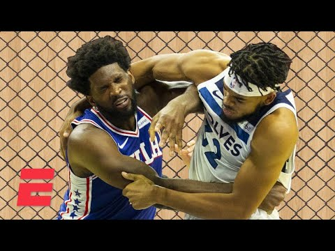 Download UFC fighters react to Joel Embiid vs. Karl-Anthony Towns brawl | ESPN