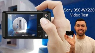 Sony DSC-WX220 Video Test- Vlog!