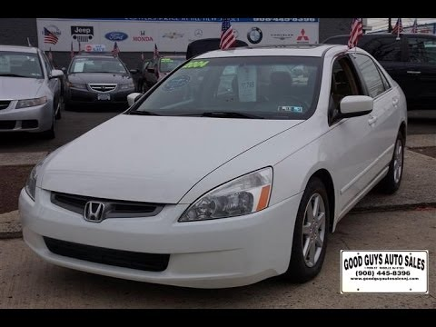 2004 Honda Accord EX L Rahway New Jersey Used Cars