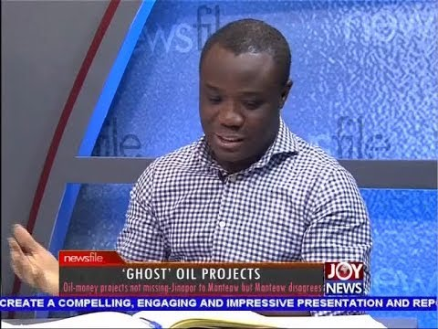'Ghost' Oil Projects - Newsfile on JoyNews (14-4-18)