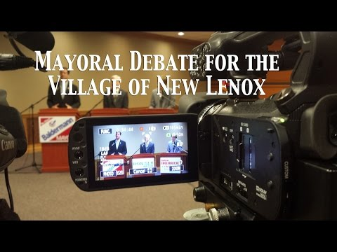 Mayoral Debate for the Village of New Lenox - March 24 2015