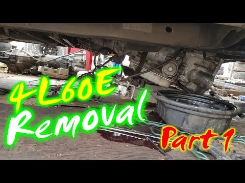 Removing a 4L60E Transmission (2001 Tahoe) Part 1 of 2
