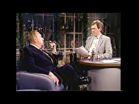 Samuel Z. Arkoff | David Letterman 12/8/87