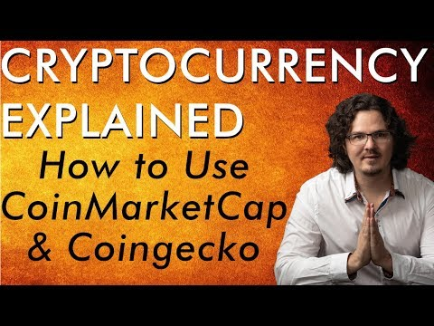 Important Research Tools CoinMarketCap & Coingecko - Bitcoin Cryptocurrency Explained - Free Course