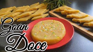 Goan Doce Recipe | Chonya Doce Recipe | Christmas  Sweets | wedding  Doce| Goan Recipe